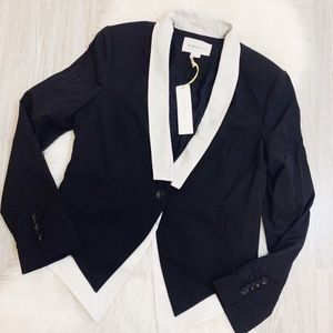 NWT BCBGeneration Tuxedo Colorblock Jacket Large